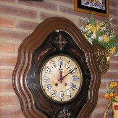 Relojes de pared: ANTIGUO OJO BUEY PARIS AÑO1890-ESFERA ALABASTRO. Lote 33772475