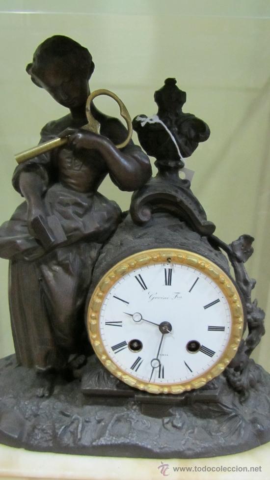 Relojes de pared: Reloj Francés tipo París siglo XIX. - Foto 2 - 33921907