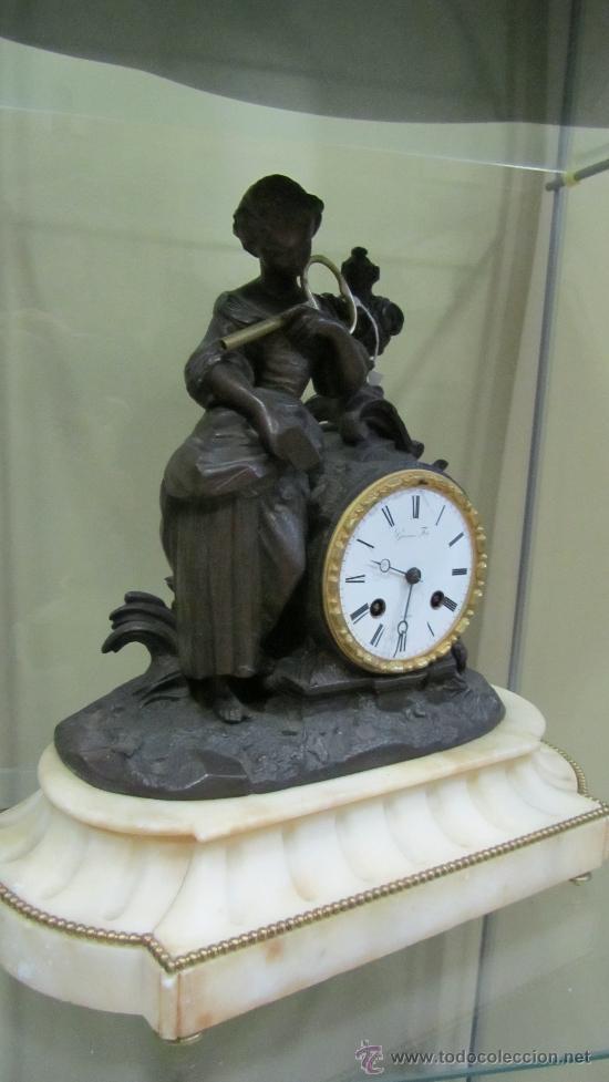 Relojes de pared: Reloj Francés tipo París siglo XIX. - Foto 3 - 33921907
