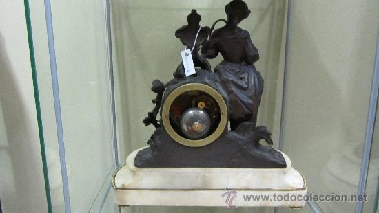 Relojes de pared: Reloj Francés tipo París siglo XIX. - Foto 5 - 33921907