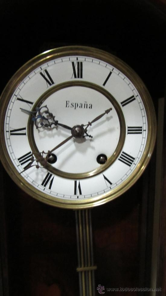 Relojes de pared: RELOJ ALEMAN FINALES XIX. - Foto 2 - 33923322