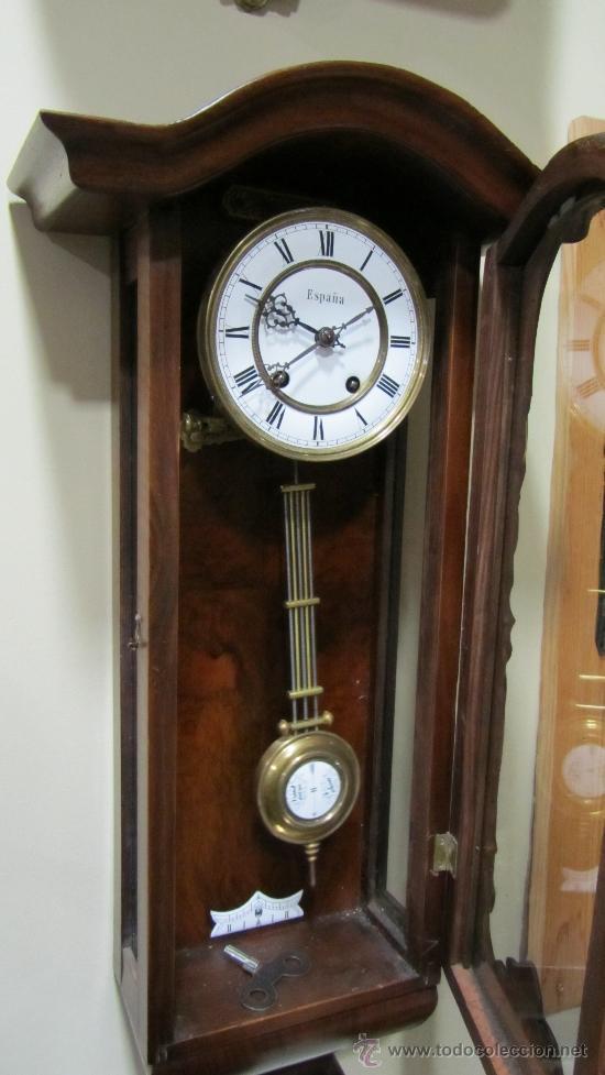 Relojes de pared: RELOJ ALEMAN FINALES XIX. - Foto 3 - 33923322