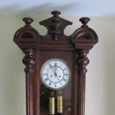 Relojes de pared: REGULADOR VIENES SIGLO XIX.. Lote 33980097