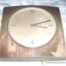Relojes de pared: RELOJ DE PARED ELME DE MADERA .A PILAS,. Lote 34024540