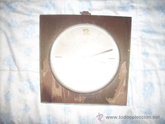 Relojes de pared: RELOJ DE PARED ELME DE MADERA .A PILAS, - Foto 2 - 34024540