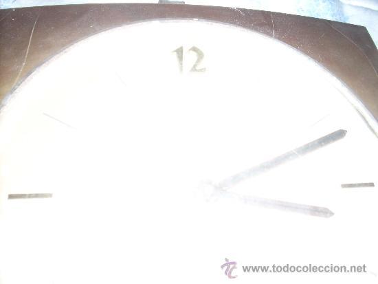 Relojes de pared: RELOJ DE PARED ELME DE MADERA .A PILAS, - Foto 6 - 34024540