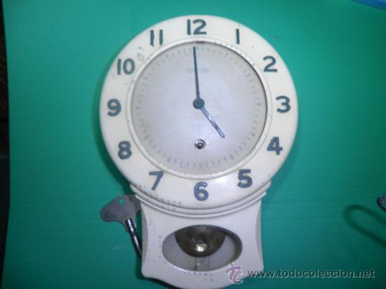 RELOJ DE PARED SMITHS VINTAGE ART - DECO (Relojes - Pared Carga Manual)