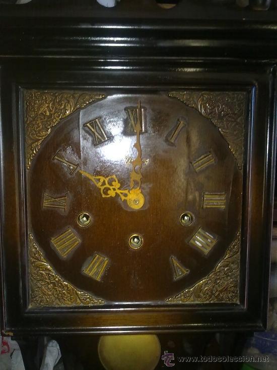 RELOJ DE PARED MARCA URGOS AÑOS 20 ALEMÁN ((((MUY RARO))) (Relojes - Pared Carga Manual)