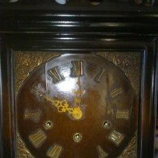 Relojes de pared: RELOJ DE PARED MARCA URGOS AÑOS 20 ALEMÁN ((((MUY RARO))). Lote 34597273