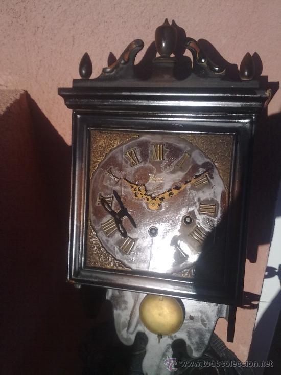 Relojes de pared: RELOJ DE PARED MARCA URGOS AÑOS 20 ALEMÁN ((((MUY RARO))) - Foto 8 - 34597273