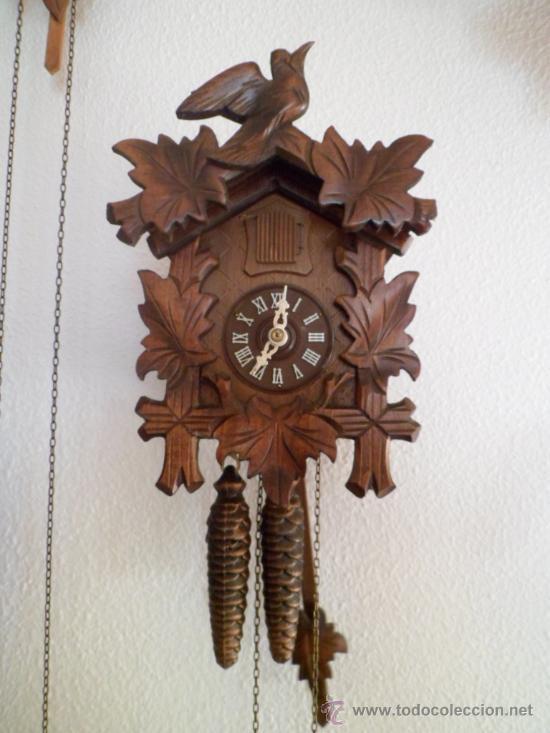 reloj antiguo de pared alem n cucu cuco p ndulo comprar