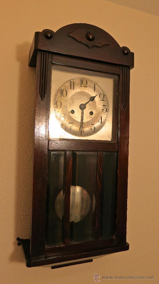Reloj de pared antiguo con pendulo y llave func comprar - Comprar mecanismo reloj pared ...