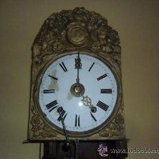 Relojes de pared: RELOJ MORETZ CON PÉNDOLA DE LIRA SIGLO XIX FUNCIONANDO . Lote 35419412