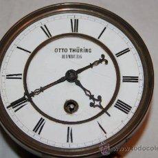 Relojes de pared: ANTIGUO RELOJ DE PARED ALEMAN. Lote 168133618