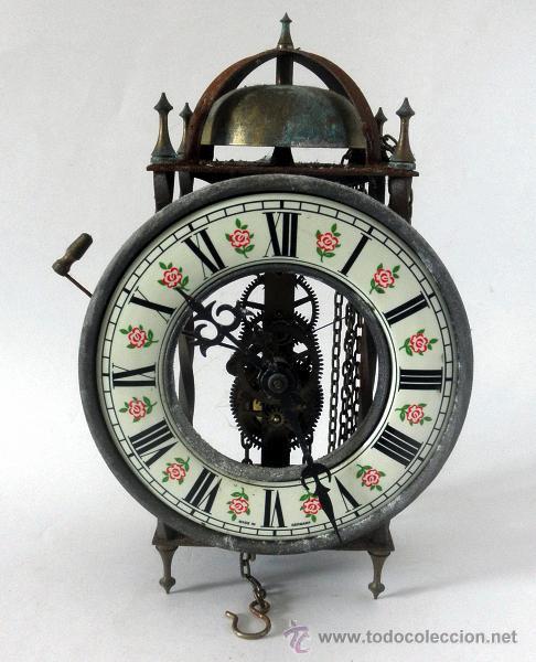 Reloj con mecanismo a la vista steampunk no comprar - Mecanismo reloj pared ...