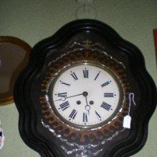 Relojes de pared: OJO DE BUEY ISABELINO. Lote 36094145