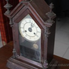 Relojes de pared: RELOJ PARED ANTIGUO FUNCIONA. Lote 36338684