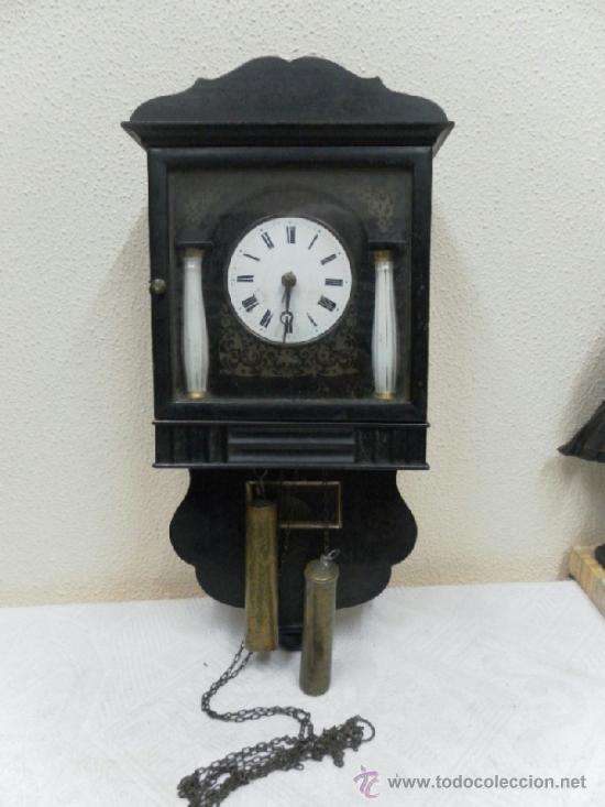 RELOJ RATERA O SELVA NEGRA. SIGLO XIX. (Relojes - Pared Carga Manual)