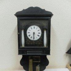 Relojes de pared: RELOJ RATERA O SELVA NEGRA. SIGLO XIX.. Lote 36503138