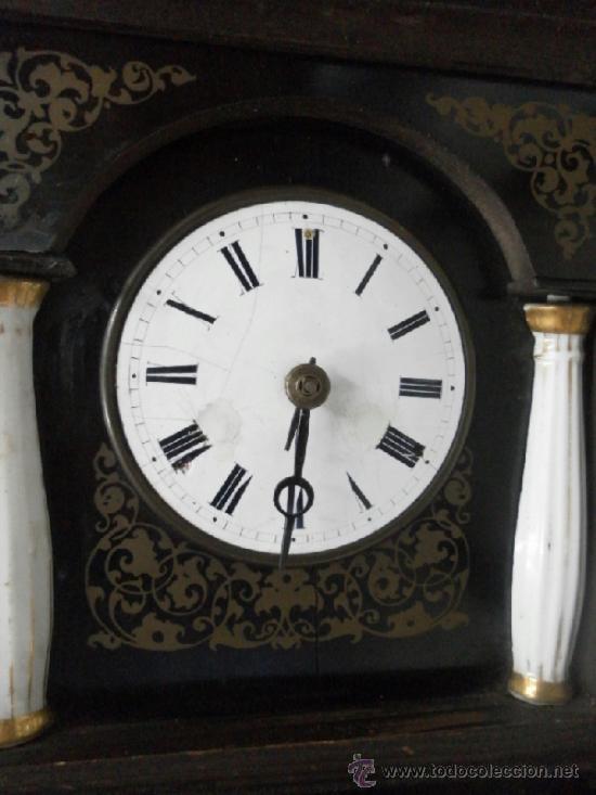 Relojes de pared: Reloj ratera o selva negra. Siglo XIX. - Foto 5 - 36503138