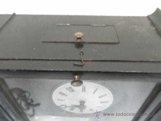 Relojes de pared: Reloj ratera o selva negra. Siglo XIX. - Foto 11 - 36503138