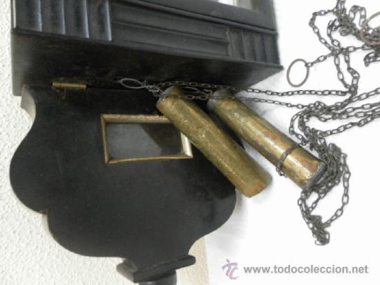 Relojes de pared: Reloj ratera o selva negra. Siglo XIX. - Foto 12 - 36503138
