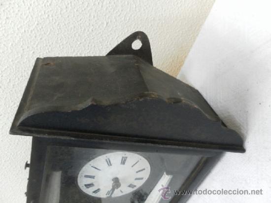 Relojes de pared: Reloj ratera o selva negra. Siglo XIX. - Foto 13 - 36503138