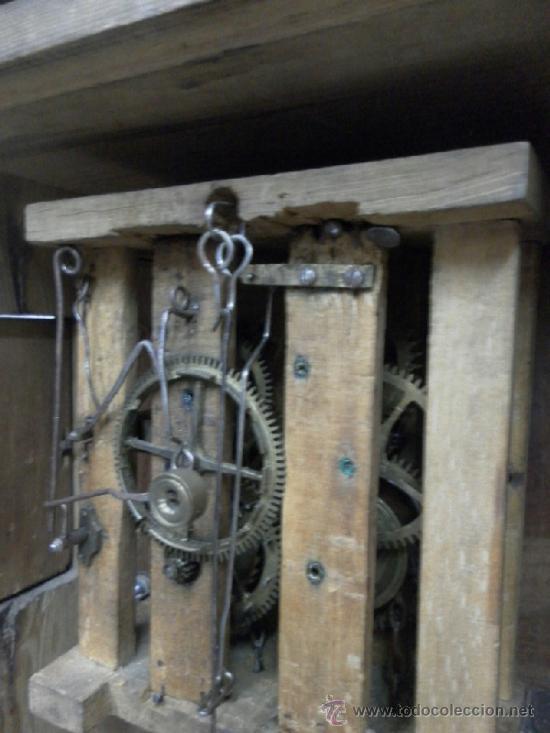 Relojes de pared: Reloj ratera o selva negra. Siglo XIX. - Foto 23 - 36503138