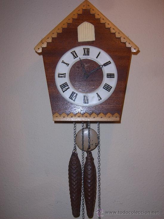 Relojes de pared: BONITO Y RARO RELOJ CUCU HECHO EN RUSIA,TOTALMENTE MECÁNICO Y FUNCIONAL.ESPECIAL PARA COLECCIONISTAS - Foto 4 - 31203507