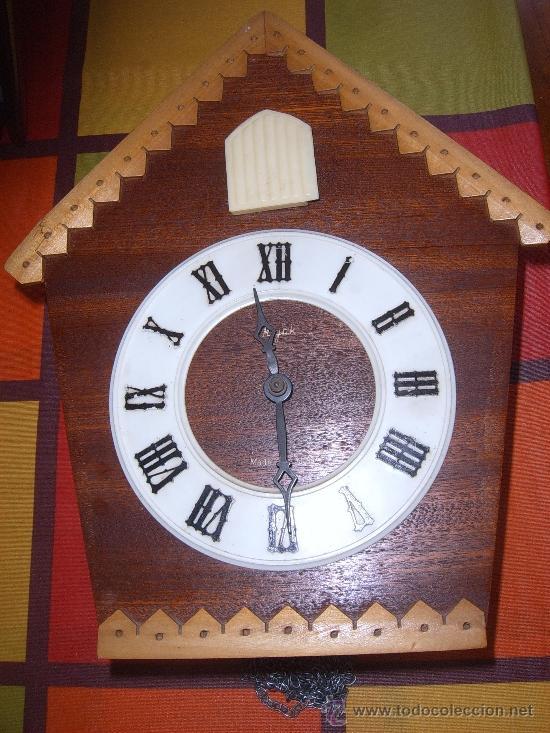 Relojes de pared: BONITO Y RARO RELOJ CUCU HECHO EN RUSIA,TOTALMENTE MECÁNICO Y FUNCIONAL.ESPECIAL PARA COLECCIONISTAS - Foto 10 - 31203507