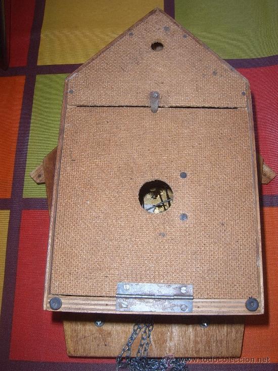 Relojes de pared: BONITO Y RARO RELOJ CUCU HECHO EN RUSIA,TOTALMENTE MECÁNICO Y FUNCIONAL.ESPECIAL PARA COLECCIONISTAS - Foto 11 - 31203507