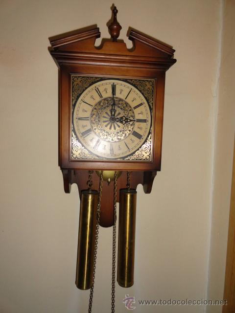 Reloj pared pendulo artesanal w haid west ger comprar for Reloj de pared con pendulo