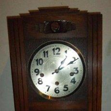 Relojes de pared: PRECIOSO RELOJ CARRILLÓN ART DÉCO. Lote 36706318