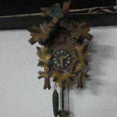 Relojes de pared: ANTIGUO RELOJ DE CUCO SUIZO . Lote 37620461
