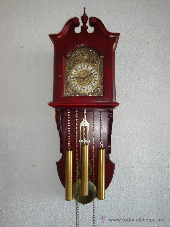 Reloj de p ndulo de pared marca radiant carrill comprar - Comprar mecanismo reloj pared ...