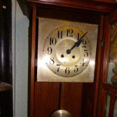 Relojes de pared: RELOJ DE PARED REGULADOR ALEMÁN, PRINCIPIOS SIGLO XX. Lote 38892448