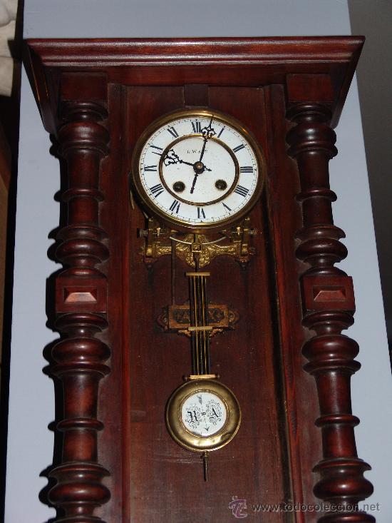 Relojes de pared: RELOJ DE PARED ESTILO ALFONSINO - Foto 2 - 39113859