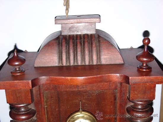 Relojes de pared: RELOJ DE PARED ESTILO ALFONSINO - Foto 4 - 39113859