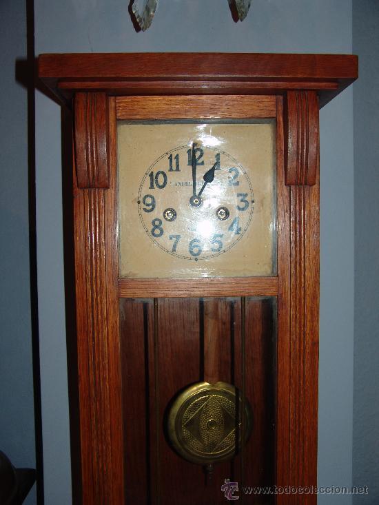 Relojes de pared: MUY BONITO RELOJ DE PARED ESTILO MODERNISTA - Foto 2 - 39114188