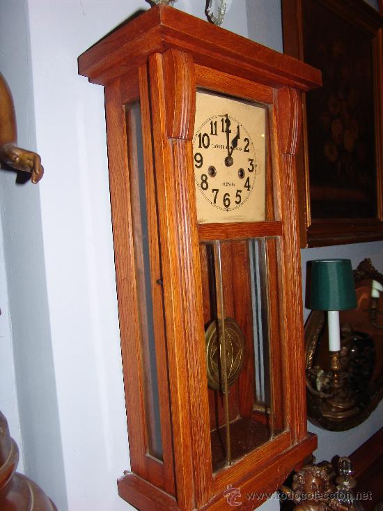 Relojes de pared: MUY BONITO RELOJ DE PARED ESTILO MODERNISTA - Foto 4 - 39114188