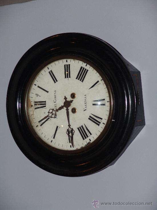 Relojes de pared: ANTIGUO RELOJ DE PARED DE OJO DE BUEY - Foto 1 - 39114397