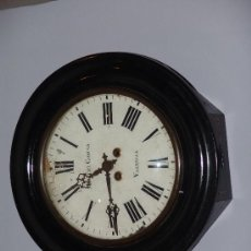 Relojes de pared: ANTIGUO RELOJ DE PARED DE OJO DE BUEY. Lote 39114397