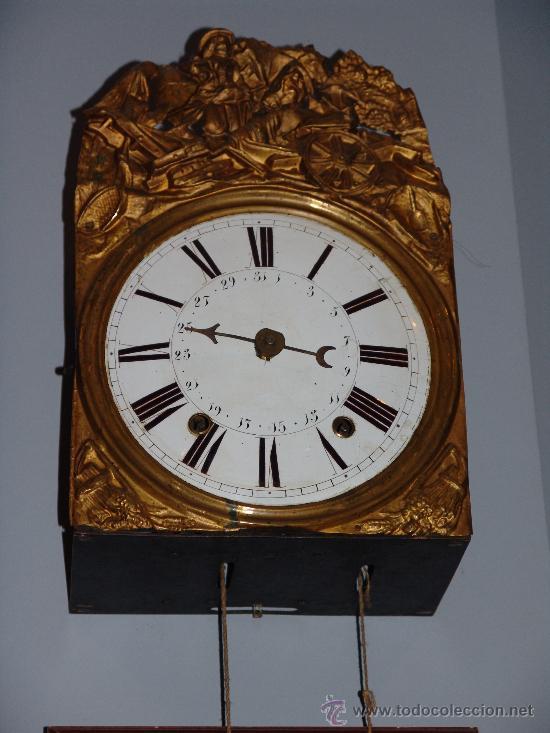 Antiguo reloj de pared estilo morez comprar relojes - Relojes de pared clasicos ...