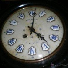 Relojes de pared: OJO DE BUEY ISABELINO. Lote 39499928