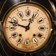 Relojes de pared: ANTIGUO RELOJ MOREZ ESTILO ISABELINO SIGLO XIX.. Lote 39769249