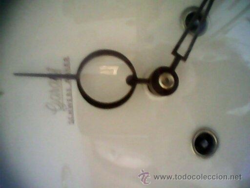 Relojes de pared: ANTIGUO RELOJ DE PARED, CARGA MANUAL.DE LOS AÑOS , 50.MARCA Jarant,SCHWEBE,ANKER HECHO,LATÓN DORADO. - Foto 11 - 39770880