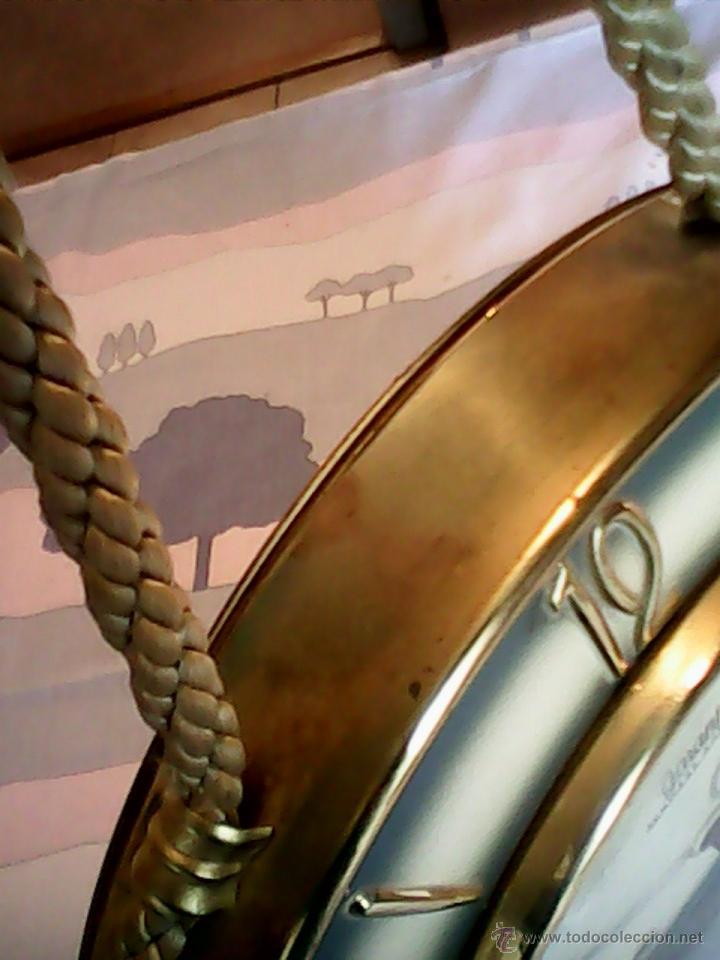 Relojes de pared: ANTIGUO RELOJ DE PARED, CARGA MANUAL.DE LOS AÑOS , 50.MARCA Jarant,SCHWEBE,ANKER HECHO,LATÓN DORADO. - Foto 14 - 39770880