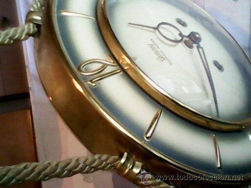 Relojes de pared: ANTIGUO RELOJ DE PARED, CARGA MANUAL.DE LOS AÑOS , 50.MARCA Jarant,SCHWEBE,ANKER HECHO,LATÓN DORADO. - Foto 19 - 39770880