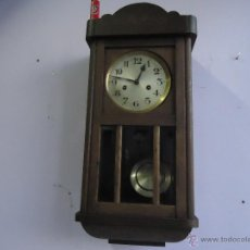 Relojes de pared: MUY ANTIGUO (PRINCIPIOS DE 1900 ) Y PRECIOSO RELOJ A CUERDAS Y CON SONERIA DE HORAS Y MEDIAS, FUNCIO. Lote 40469494