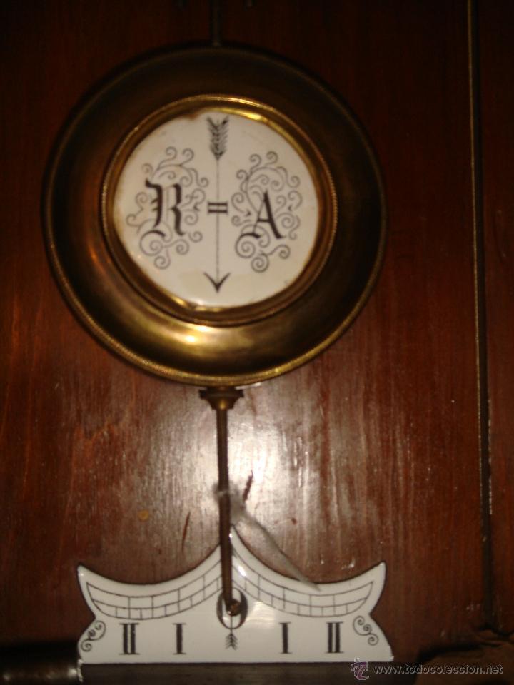 Relojes de pared: RELOJ DE PARED de péndulo bastante antiguo - Foto 2 - 40681113